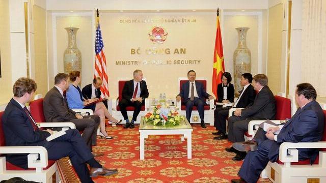 Bộ trưởng Tô Lâm tiếp Đại sứ Hoa Kỳ