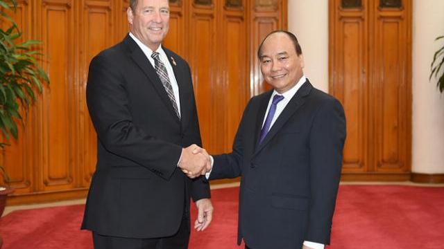 Thủ tướng Nguyễn Xuân Phúc tiếp hạ nghị sĩ Mỹ