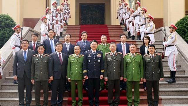 Tăng cường hợp tác giữa Bộ Công an Việt Nam và Cơ quan Cảnh sát Quốc gia Hàn Quốc