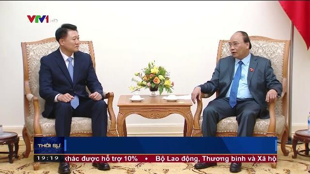 Thủ tướng Nguyễn Xuân Phúc tiếp tư lệnh cảnh sát Hàn Quốc