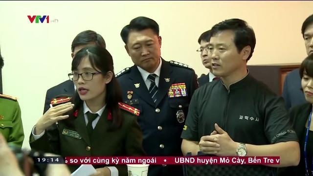 Bộ trưởng Tô Lâm họp bàn hợp tác phòng chống tội phạm Việt Nam và Hàn Quốc