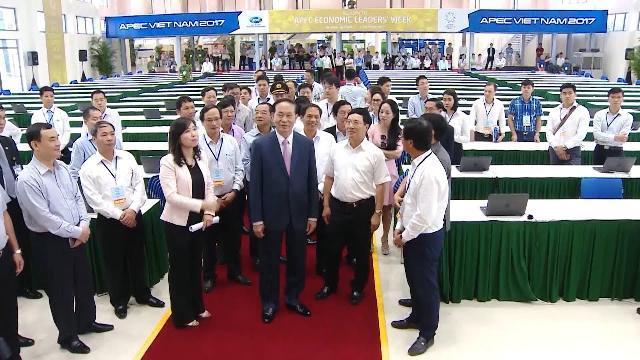 Chủ tịch nước Trần Đại Quang tổng duyệt các hoạt động của Tuần lễ cấp cao APEC