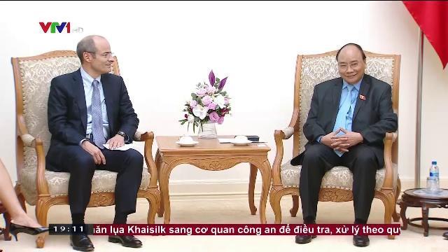 Thủ tướng Nguyễn Xuân Phúc tiếp tổng giám đốc tập đoàn AB INBEV