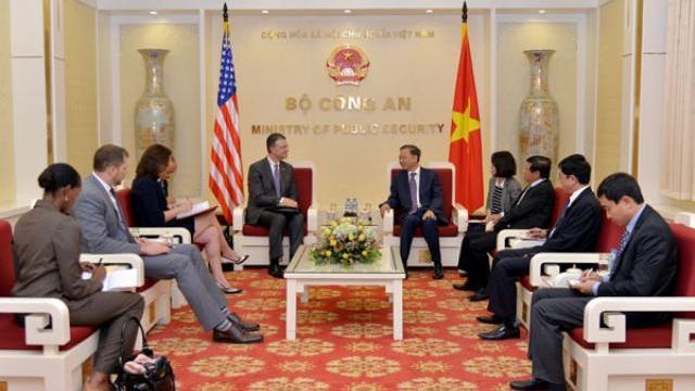 Bộ trưởng Tô Lâm tiếp tân Đại sứ Hoa Kỳ tại Việt Nam
