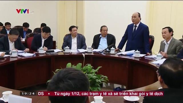 Thủ tướng Nguyễn Xuân Phúc kiểm tra thực hiện nghị quyết TW4