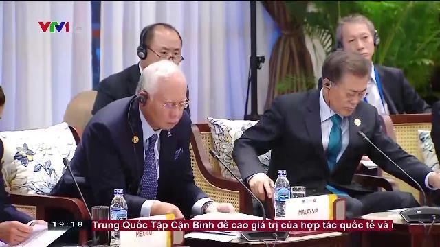 Chủ tịch nước Trần Đại Quang đối thoại cấp cao không chính thức APEC ASEAN