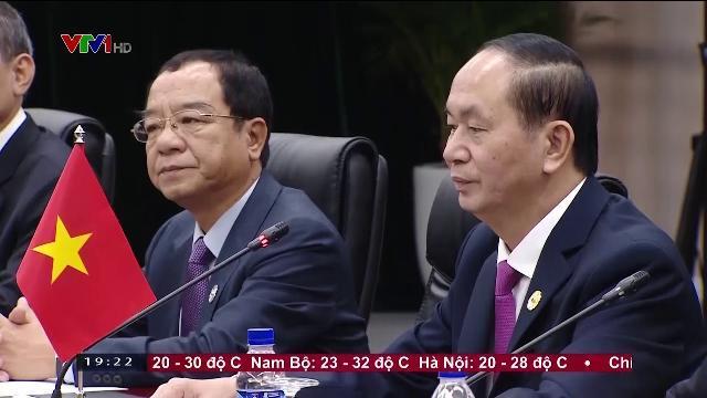 Chủ tịch nước Trần Đại Quang tiếp Thủ tướng Nhật Bản