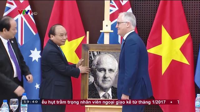Sớm nâng quan hệ Việt Nam Australia lên đối tác chiến lược