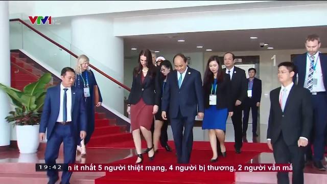 Thủ tướng Nguyễn Xuân Phúc hội đàm cùng Thủ tướng New Zealand