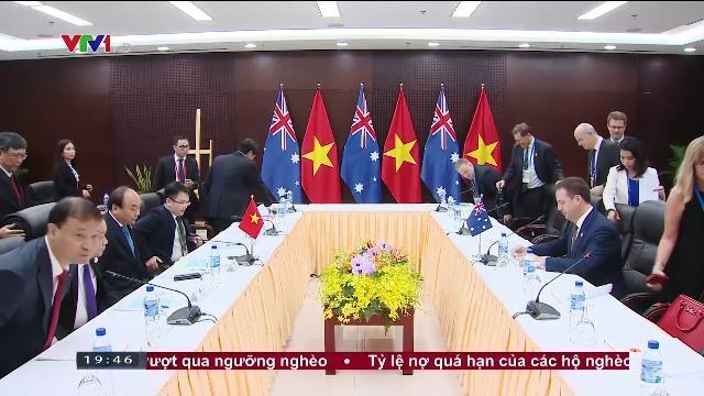Thủ tướng Nguyễn Xuân Phúc tiếp các doanh nghiệp Australia