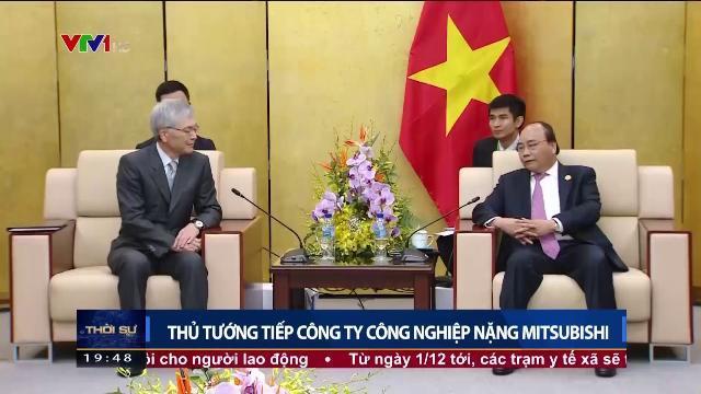 Thủ tướng Nguyễn Xuân Phúc gặp các nhà tài trợ cho APEC 2017