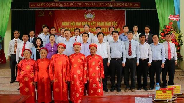 Bộ trưởng Tô Lâm dự Ngày hội Đại đoàn kết toàn dân tộc tại Bắc Ninh
