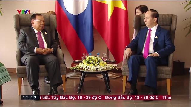 Chủ tịch nước Trần Đại Quang tiếp Tổng bí thư, Chủ tịch nước Lào