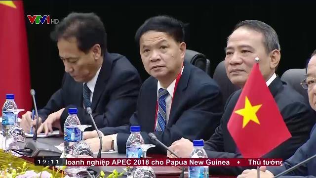 Chủ tịch nước Trần Đại Quang hội kiến Tổng thống Hàn Quốc