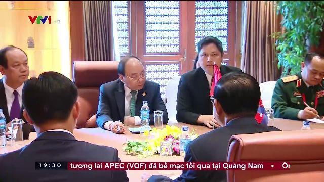 Thủ tướng Nguyễn Xuân Phúc hội kiến Thủ tướng Campuchia