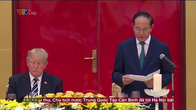 Chiêu đãi trọng thể Tổng thống Hoa Kỳ