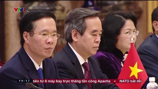 Chủ tịch nước Trần Đại Quang hội đàm với Tổng bí thư, Chủ tịch Trung Quốc