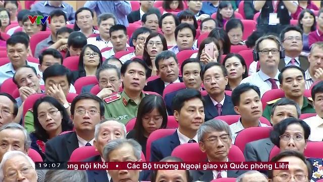 Chủ tịch nước Trần Đại Quang dự lễ kỷ niệm 115 năm thành lập trường Đại học y Hà Nội