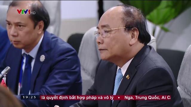 Thủ tướng Nguyễn Xuân Phúc hội kiến Tổng thư ký Liên Hợp Quốc