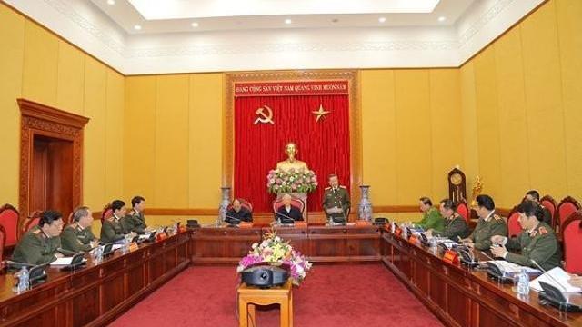 Tiếp tục phát huy tốt vai trò tham mưu cho Đảng, Nhà nước về an ninh, trật tự