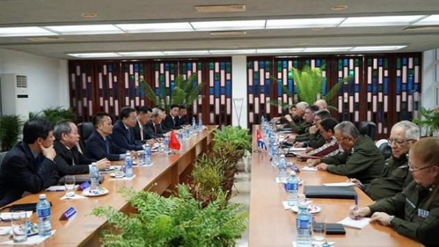 Việt Nam - Cuba tăng cường hợp tác an ninh