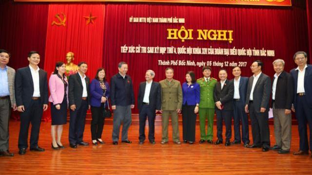 Bộ trưởng Tô Lâm tiếp xúc cử tri tại Bắc Ninh