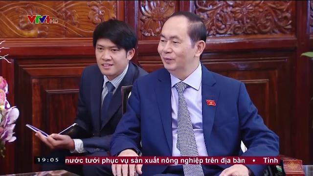 Chủ tịch nước Trần Đại Quang tiếp đại sứ Uruguay