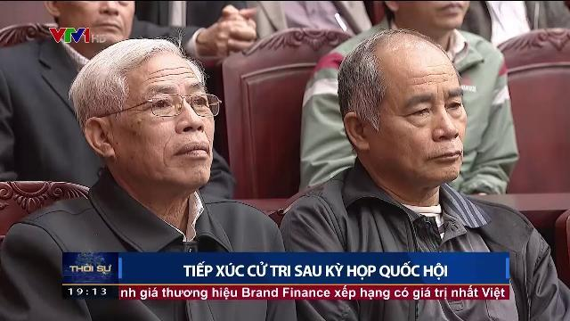 Bộ trưởng Tô Lâm tiếp xúc cử tri sau kỳ họp Quốc hội