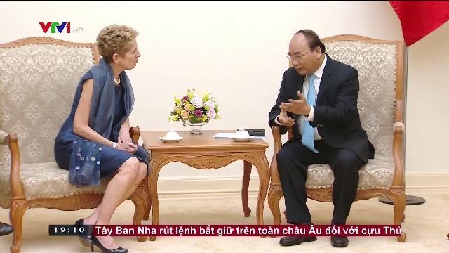 Thủ tướng Nguyễn Xuân Phúc tiếp Thủ hiến bang Ontario, Canada