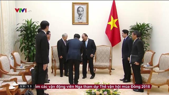 Thủ tướng Nguyễn Xuân Phúc tiếp Chủ tịch tập đoàn CJ, Hàn Quốc