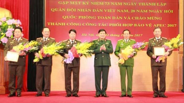 Bộ Công an - Bộ Quốc phòng gặp mặt kỷ niệm 73 năm thành lập QĐND Việt Nam