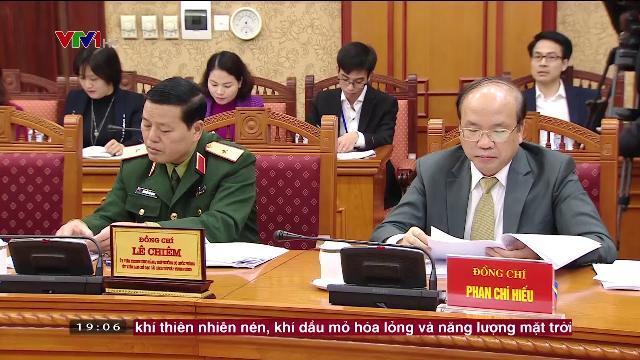 Chủ tịch nước Trần Đại Quang chủ trì phiên họp thứ tư BCĐ cải cách tư pháp TW nhiệm kỳ 2016-2021