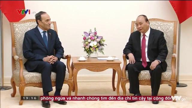 Thủ tướng Nguyễn Xuân Phúc tiếp chủ tịch hạ viện Morocco