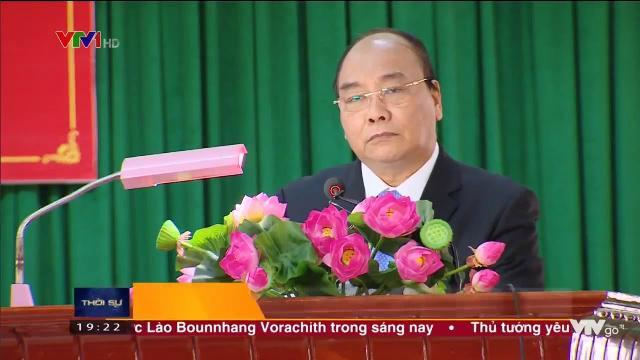 Thủ tướng Nguyễn Xuân Phúc chúc mừng ngày thành lập quân đội