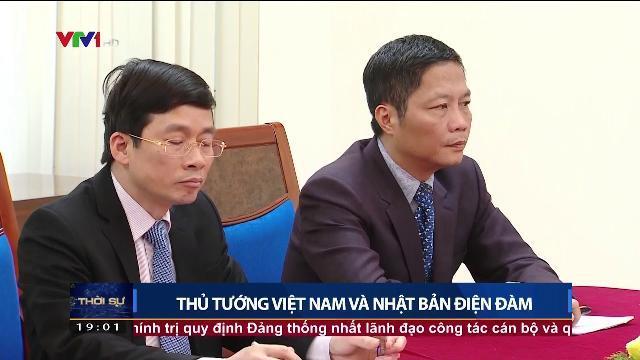Thủ tướng Nguyễn Xuân Phúc điện đàm cùng Thủ tướng Nhật Bản