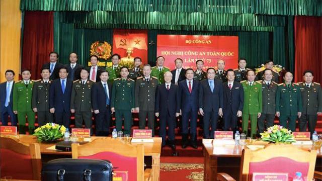 Khai mạc trọng thể Hội nghị Công an toàn quốc lần thứ 73