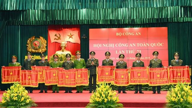 Bộ trưởng Tô Lâm phát biểu kết luận Hội nghị Công an toàn quốc lần thứ 73