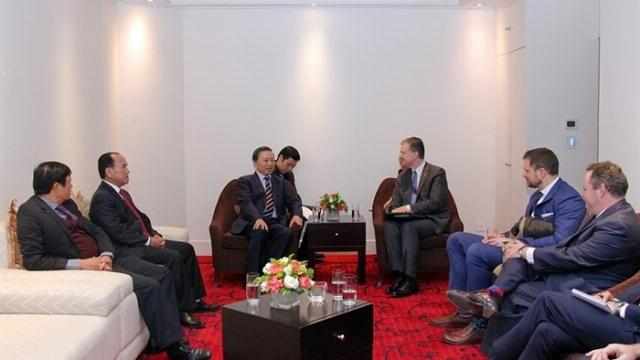 Bộ trưởng Tô Lâm tiếp Đại sứ Mỹ Daniel Kritenbrink