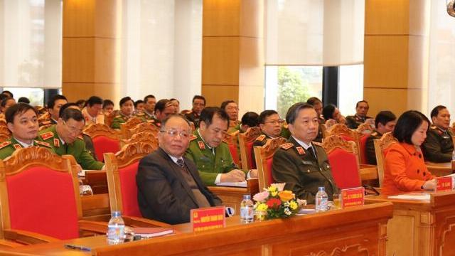 Đảng ủy Công an TƯ tổ chức Hội nghị học tập chuyên đề năm 2018