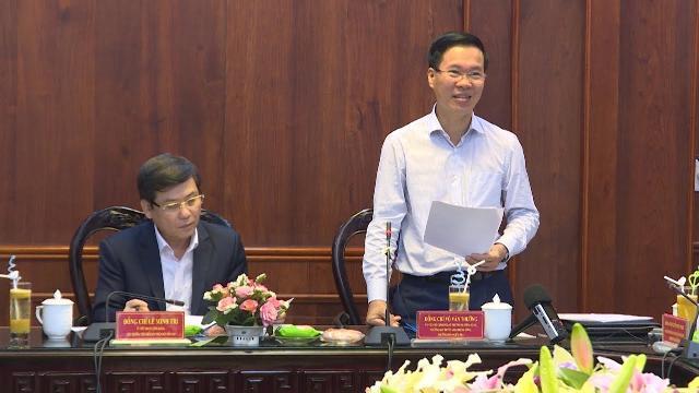 Đoàn công tác của Bộ Chính trị làm việc với Ban cán sự Đảng Viện Kiểm sát Nhân dân tối cao