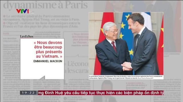 Báo chí Quốc tế quan tâm về chuyến thăm của Tổng bí thư Nguyễn Phú Trọng
