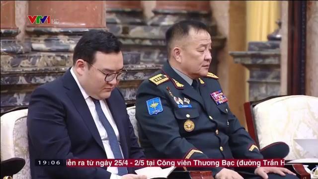 Chủ tịch nước Trần Đại Quang họp bàn tăng cường hợp tác an ninh Việt Nam Mông Cổ