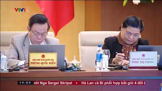 Bế mạc phiên họp 23 Ủy ban thường vụ Quốc hội