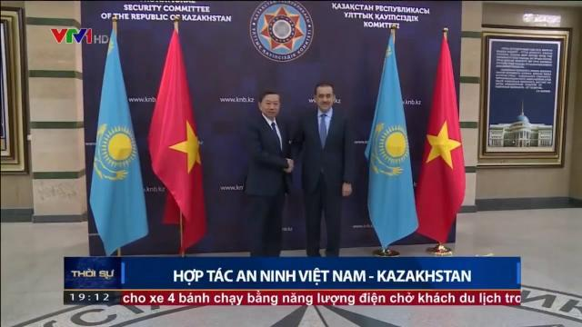 Bộ trưởng Tô Lâm họp bàn hợp tác an ninh Việt Nam Kazakhstan