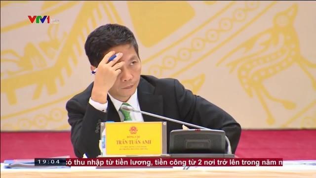 Thủ tướng Nguyễn Xuân Phúc phát biểu tại hội nghị toàn Quốc về thúc đẩy xuất khẩu