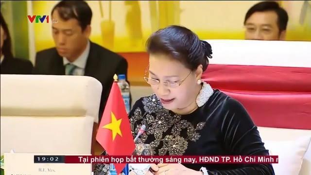 CTQH Nguyễn Thị Kim Ngân tiếp CTQH Sri Lanka thăm chính thức Việt Nam