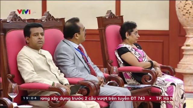 Tổng bí thư Nguyễn Phú Trọng tiếp Chủ tịch quố chội Sri Lanka