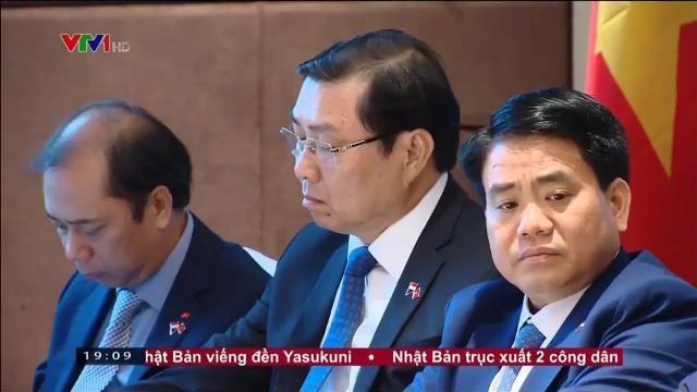 Thủ tướng Nguyễn Xuân Phúc nghiên cứu cách mạng công nghiệp 4 0 của Singapore