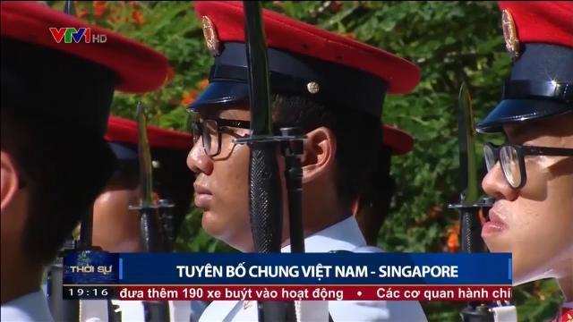 Tuyên bố chung Việt Nam Singapore