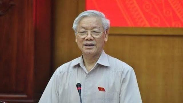 Tổng bí thư Nguyễn Phú Trọng nói về việc kẻ xấu kích động biểu tình